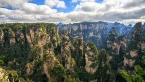 parque nacional Zhangjiajie situado en la provincia de Hunan en el país China que aparece en la pelicula Avatar